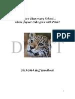 Fairview Staff Handbook