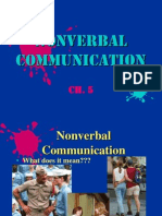 ch  5 - nonverbal communication