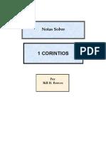 Notas Sobre 1 Corintios, Sept. 2004