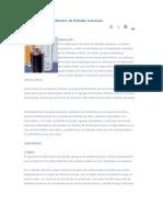 Fabricación e Ingredientes de Bebidas Gaseosas