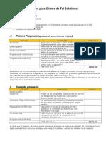 Cotizaciones Referenciales para cliente de Tel.doc