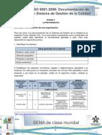 Actividad de Aprendizaje Unidad 1-La Normalizacion de Una Organizacion
