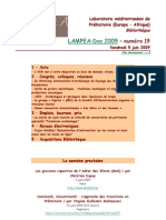 LAMPEA-Doc 2009 – numéro 19 / Vendredi 5 juin 2009