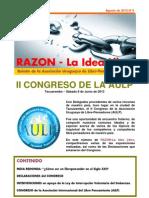 RAZON – La Idea Libre - Agosto de 2013