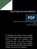 Fx de Antebrazo