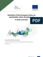 Activities of EU Onto Sustainable Urban Development