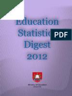 Education statistics, Singapore 2012