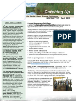 SEQ Catchments catching Up Newsletter Stanley Upper Brisbane April 2012