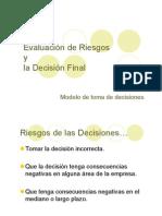 evaluar riesgos decisiones