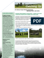 SEQ Catchments catching Up Newsletter Stanley Upper Brisbane July 2012