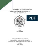 Rc02-Pengaruh PAI Terhadap Pembentukan Akhlak Siswa