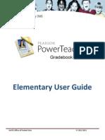 elem ptg training manual