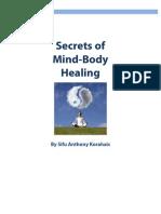 Secrets of Mind Body Healing