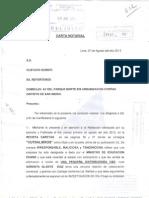 Carta Notarial V&D