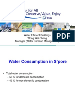 Water Efficient Buildings