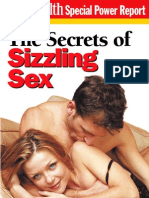 Men's Health - The Secrets of Sizzling Sex