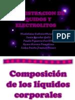 Administracion de Liquidos y Electrolitos