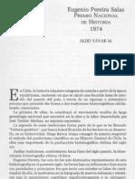 Eugenio Pereira Salas Premio Nacional de Historia