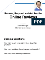 Remove, Respond and Get Positive Reviews