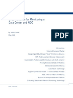 Data Center Best Practices for Monitoring