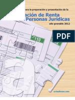 Guia Declaracion Renta PJ 2012 Beta