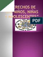 DERECHOS DE LOS NIÑOS,NIÑAS Y ADOLESCENTES