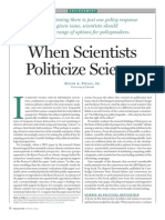 Politics & Sciece