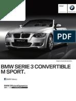 Ficha Tecnica BMW 325iA Convertible M Sport Automatico 2013