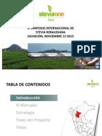 11 Stevia One La Experiencia Peruana