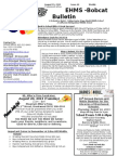 Bobcat Bulletin 8-19-13