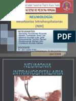Neumonías Intrahospitalarias