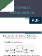 TEMA 1. Introducción a los Sistemas Automáticos (Parte1)