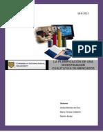 informe Planificación en la Investigación cualitativa de Mercados-1