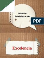 administracion tpd