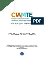 ProgramaCIAMTE2013 2
