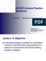 14 - Wall Thickness Design Example