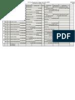 MAE Timetable