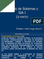 Analisis de Sistemas y Sia i II Parte 2013