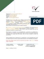 31997366 Carta de Autorizacion Para Ejecutar Una Encuesta