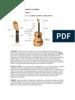 Estructura de La Guitarra Gaby