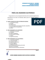 Perfil Ingeniero Electronico