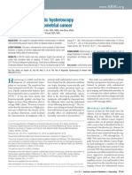 CA Endometrial e Hiisteroscopia