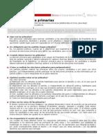 Ficha Elecciones Primarias