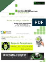 2011 12 02 - HacknRio2011 - Analise de Trafego de Redes Com Xplico