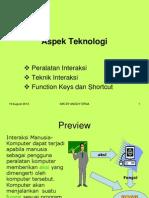 imk-Aspek Teknologi