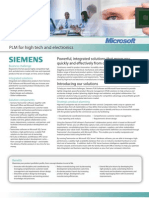 Microsoft_Siemens PLM for High Tech and Electronics