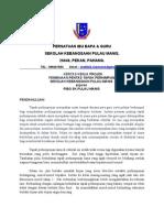 Kertas Kerja Memohon Tapak Perhimpunan Baharu 2013