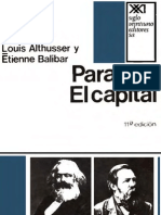 Althusser, Louis - Para Leer El Capital