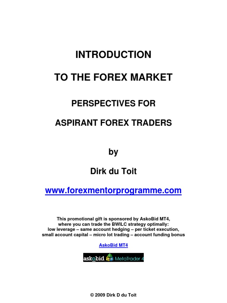 Introduction to the forex market dirk du toit foreign exchange introduction to the forex market dirk du toit foreign exchange market exchange rate fandeluxe Gallery