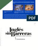 Cuaderno de Ejercicios 1 Ingles Sin Barreras